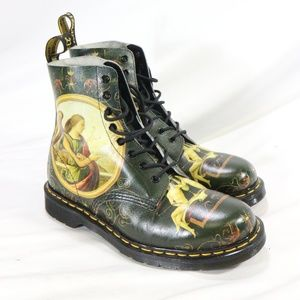 DR MARTENS DI PAOLO RARE PASCAL BOOTS Womens 10 Mens 9